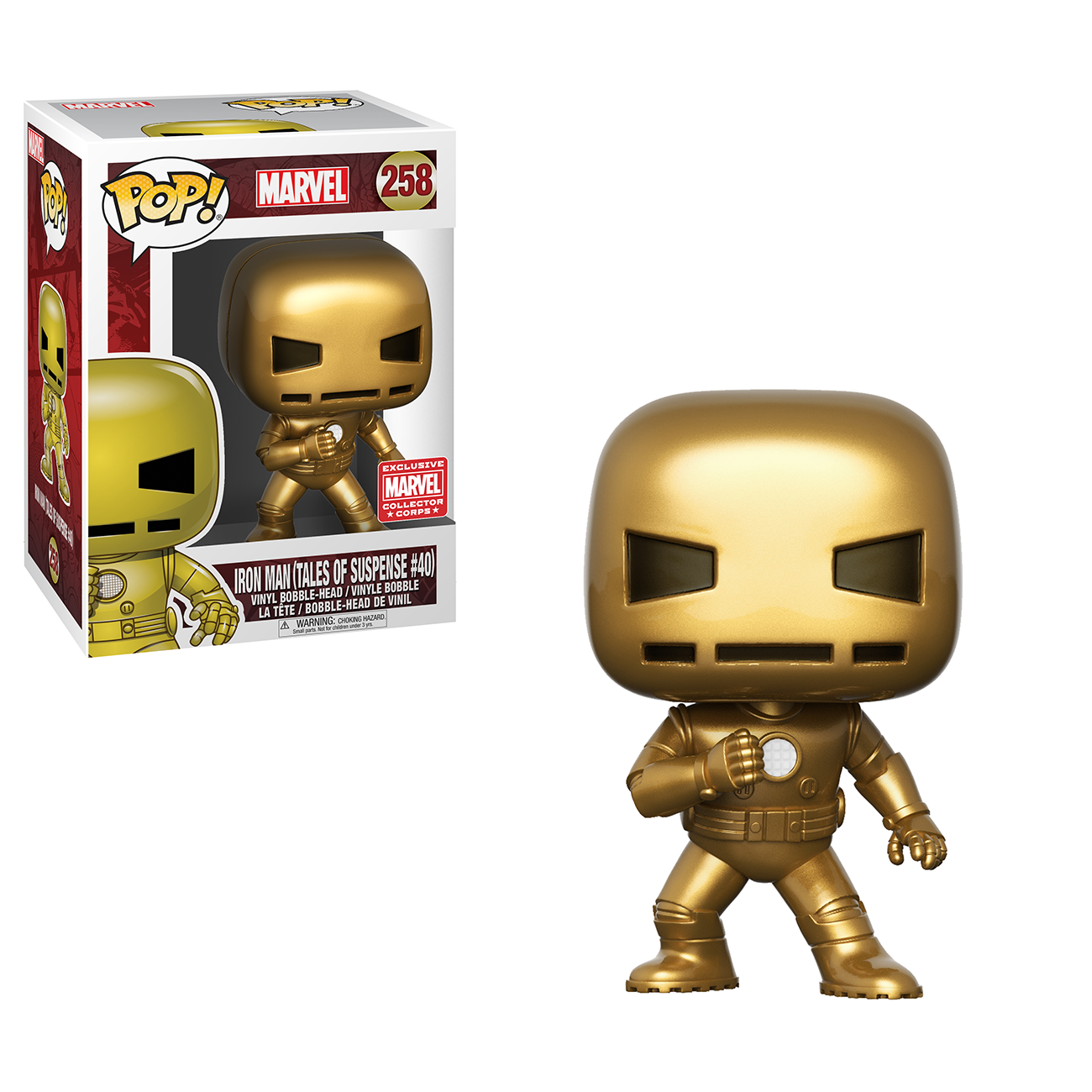 New Marvel Collector Corps Subscribers Exclusive Gold Iron