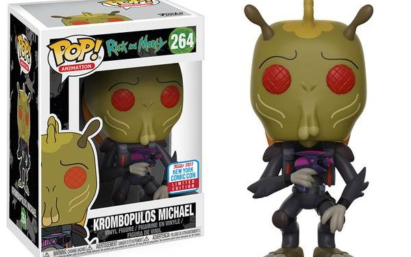 Preview of the NYCC Exclusive Rick & Morty Krombopolous Michael Pop! Vinyl!