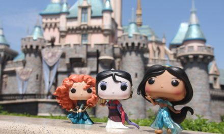 Disney Princess Pop! Vinyls Photoshoot at Disneyland