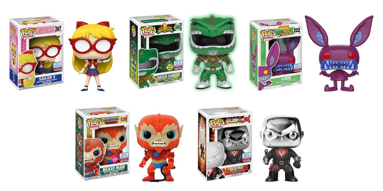Previews of the upcoming NYCC Power Rangers, G.I. Joe, Thundercats, Sailor Moon and MOTU Exclusives!