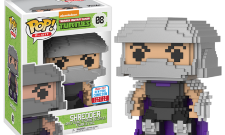 Previews of the upcoming NYCC Exclusive Dig Dug and Teenage Mutant Ninja Turtles 8-bit Pops