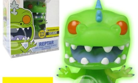 New Entertainment Earth exclusive Rugrats Glow-in-the-Dark Reptar Pop! Vinyl Coming Soon!