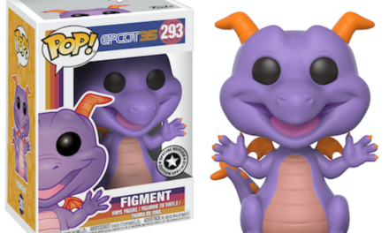 New Epcot 35th Anniversary Figment Pop! Vinyl to be released Oct. 1!