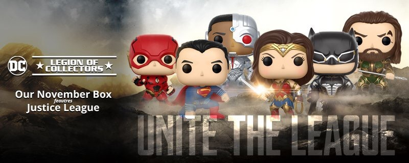 November's Legion of Collectors Box Theme Announced as Justice League!