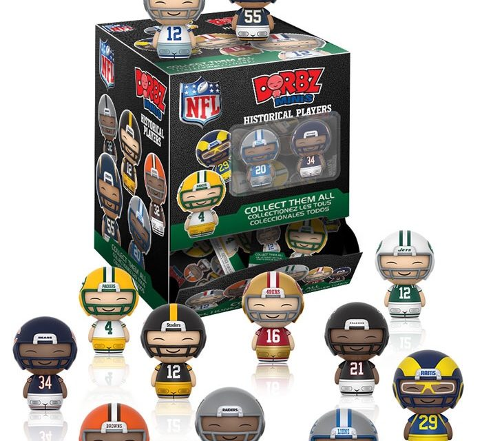 Preview of The upcoming NFL Legends Mini Dorbz Collection!