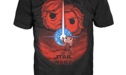 Previews of the upcoming Star Wars: The Last Jedi Pop! Tees!
