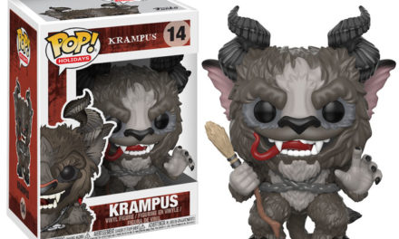 Previews of the upcoming Krampus Pop! Vinyls!