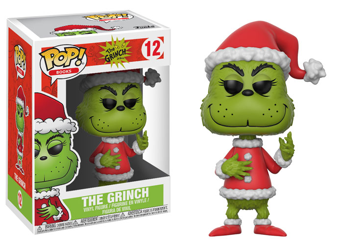 Previews of the upcoming How the Grinch Stole Christmas Dorbz Ridez & Pop!s