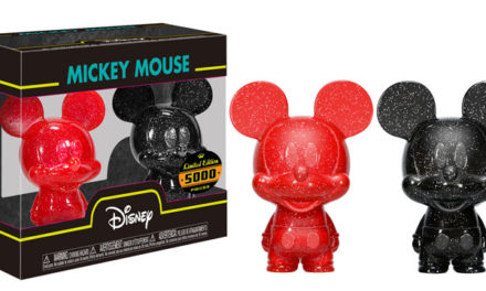 New Mickey Mouse Red and Black Hikari XS Vinyl Figures Coming Soon!