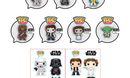 Previews of the new Funko Shop Exclusive Star Wars Patches and Stickers!