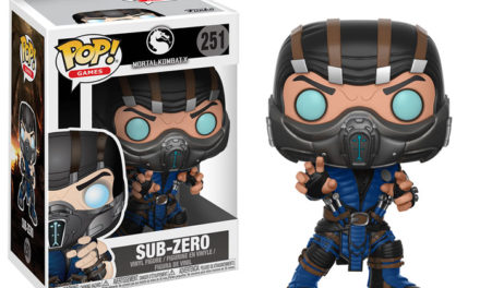 Previews of the upcoming Mortal Kombat Pop! Vinyls!