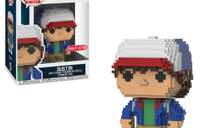 Previews of the upcoming Target Exclusive Stranger Things 8-Bit Pop!s