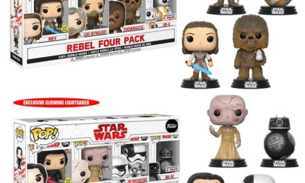 Previews of the new Costco Exclusive Star Wars: The Last Jedi Pop! Vinyl 4-packs!