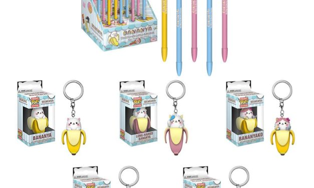 New Bananya Pens, & Pop! Keychains to be released this Winter!