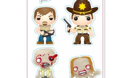 New Funko-Shop Exclusive The Walking Dead Patches and Stickers Released!