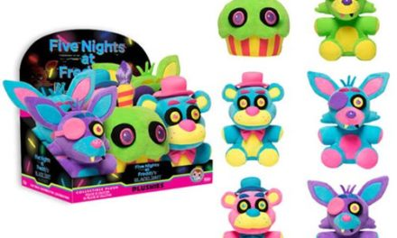 Five Nights at Freddy's Blacklight Plush Coming Soon!