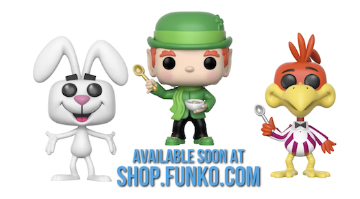 Three New Cereal Icons Pop Vinyls Coming Soon Pop