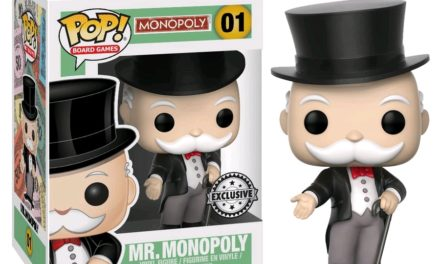 Preview of the upcoming Mr. Monopoly Pop! Vinyl!