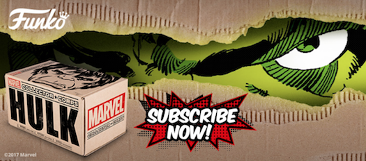 Hulk Theme Announced for the December Collectors Corp Box!