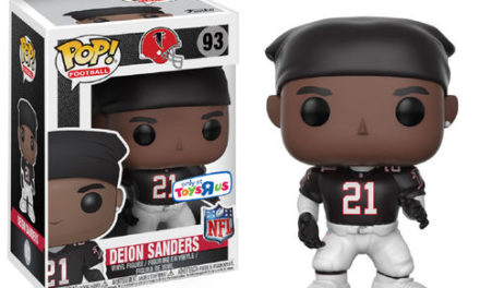 New Toys'R'Us Exclusive Deion Sanders and Lawerence Taylor Pop! Vinyls Now Available Online!