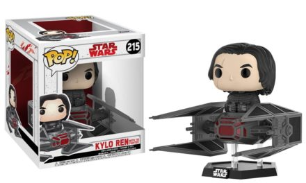 New Star Wars: The Last Jedi – Kylo in TIE Fighter Pop! Deluxe Coming Soon!