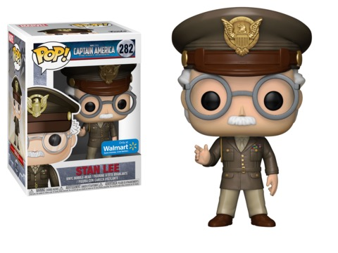 New Walmart Exclusive Stan Lee Cameo Appearance Pop! Vinyls to be released in November!