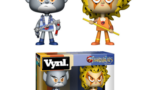 New Thundercats Panthro & Cheetara Vynl Set to be released in December!