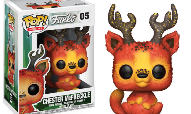 New Funko Monsters Chester McFreckle Pop! Vinyl Released!