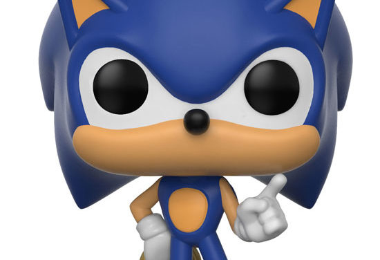Previews of the new Sonic Pop! Vinyl series Released!
