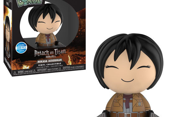 New Series of Attack on Titan Dorbz Coming Soon!