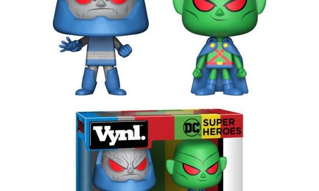 New DC Martian Manhunter & Darkseid Vynl Set Coming Soon!