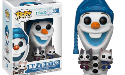 New Olaf's Frozen Adventure – Olaf with Kittens Pop! Vinyl to be released in November!