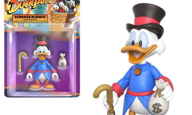 New Disney Afternoon Action Figures Coming Soon!