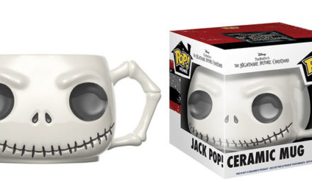 Previews of the new Nightmare Before Christmas Jack and Sally Pop! Mugs!