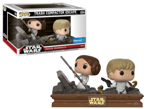 Previews of the upcoming Walmart Exclusive Pop! Star Wars Movie Moments!