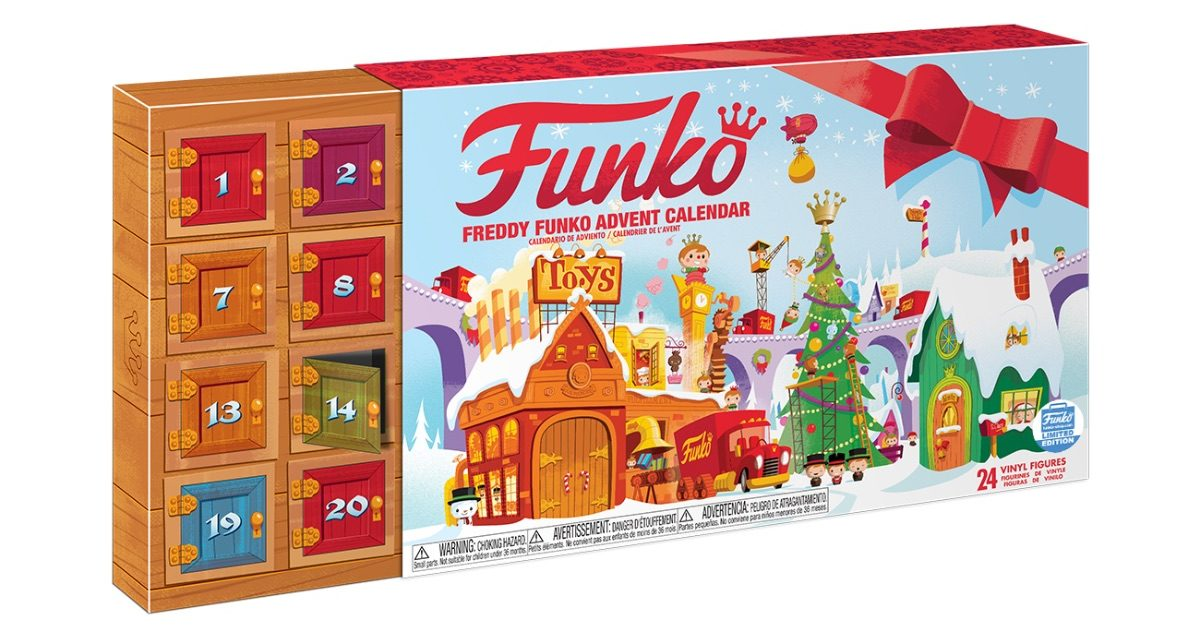 New Funko Shop Exclusive Freddy Funko Pint Size Heroes Advent Calendar Now Available!