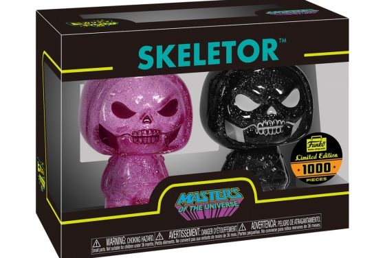New Funko Shop Exclusive Pink & Black Glitter Skeletor Hikari XS 2-pack Released!