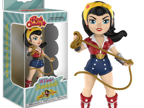 New Wonder Woman and Bat Girl DC Bombshells Rock Candy figures Coming Soon!