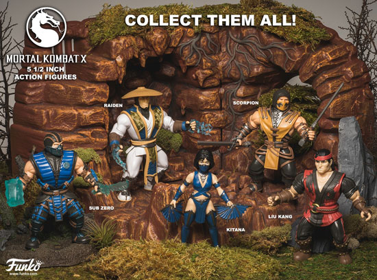 New Mortal Kombat Action Figures by Funko Coming Soon!