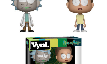 Previews of the upcoming Rick and Morty Vynl Set