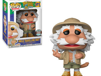 New Specialty Series Exclusive Fraggle Rock Uncle Traveling Matt Pop! and Kingdom Come Superman Dorbz Coming Soon!