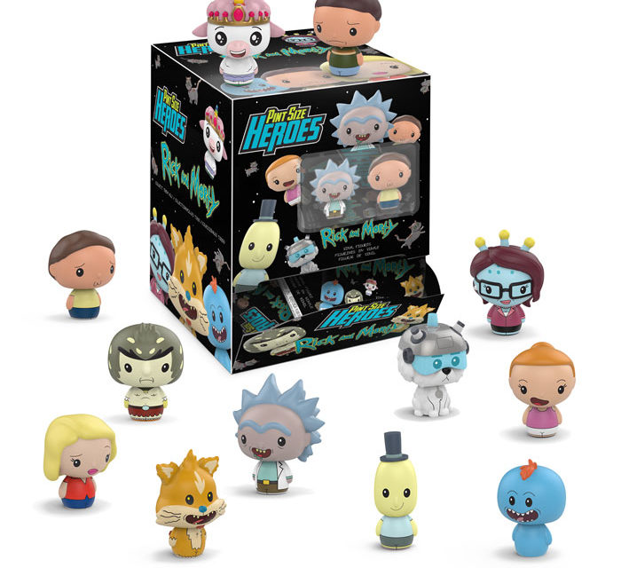New Rick and Morty Pint Size Heroes to be released in December!