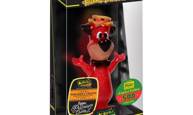 A look at the Funko Shop Exclusive Firehouse Huckleberry Hound Hikari!