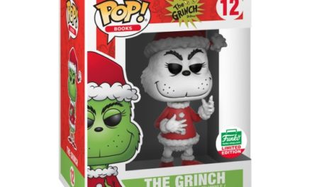 Preview of the Funko Shop Exclusive Black and White Grinch Pop! Vinyl!