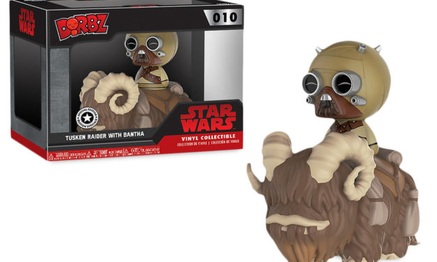 New Tusken Raider with Banta and Luke Skywalker with Speeder Dorbz Sets Now Available!