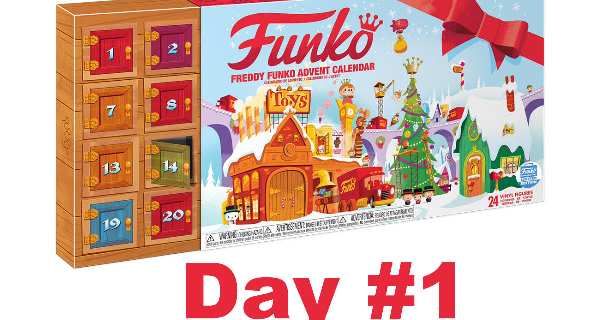 2017 Freddy Funko Pint Size Heroes Advent Calendar Reveal: Day #1