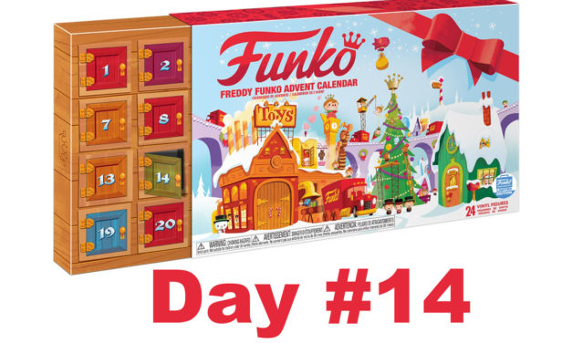2017 Freddy Funko Pint Size Heroes Advent Calendar Reveal: Day #14