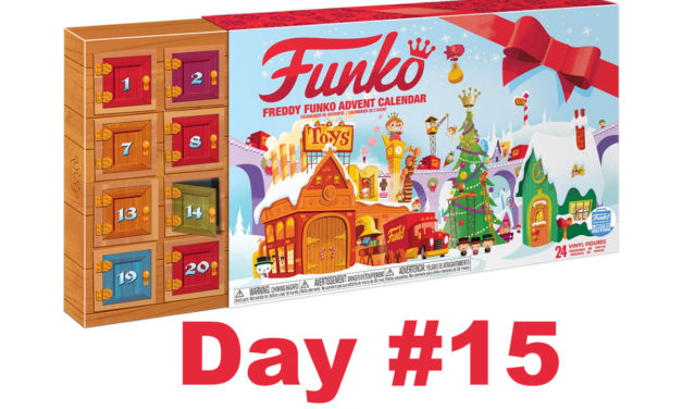 2017 Freddy Funko Pint Size Heroes Advent Calendar Reveal: Day #15