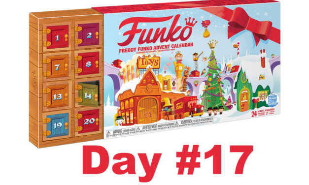 2017 Freddy Funko Pint Size Heroes Advent Calendar Reveal: Day #17