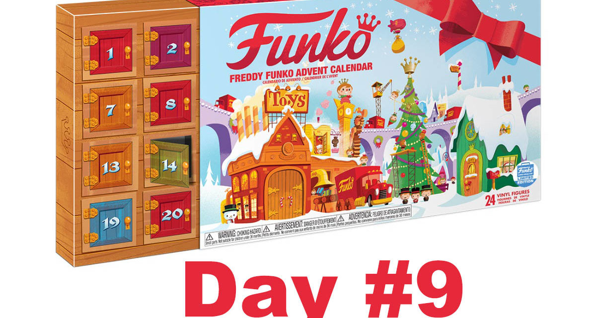 2017 Freddy Funko Pint Size Heroes Advent Calendar Reveal: Day #9